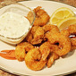 Crisp Cornmeal Shrimp