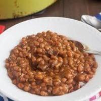 Aunt Helen's EZ Baked Bean