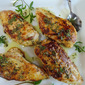 Yogurt-Marinated Chicken Breasts with Lemon-Herb Drizzle
