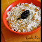 Simple Garlic Rice