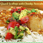 Citrus Recipes That Will Make You Smile #SundaySupper...Featuring Citrus-Glazed Scallops with Chunky Avocado Salsa