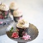 Baking   Dark Chocolate Wholegrain Cupcakes with Maple Syrup Cream Cheese Frosting
