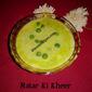 Matar Ki Kheer / Grean Peas Kheer / Ugadi ~ Gudi Padwa Special