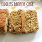 Eggless banana cake – How to make eggless banana cake recipe – eggless cakes