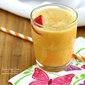 Fresh Orange Juice Strawberry Smoothie
