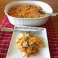RITZY HAM, CHEESE AND PASTA CASSEROLE
