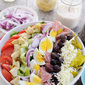 Big Italian Cobb Salad and Creamy Italian Dressing