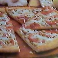 Thin Crust (Meatless) Lunch Pizza