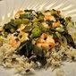 Lemon and Green Garlic Shrimp