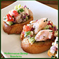Best #SundaySupper Seafood Recipes...Featuring Mediterranean Shrimp Bruschetta