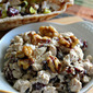 Cranberry Honey Glazed Walnut Chicken Salad