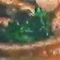 Lemon Spinach over Kielbasa