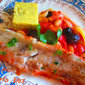 Cod and tomato bake