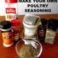 HOW TO MAKE YOUR OWN POULTRY SEASONING