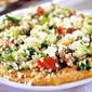 Everyone will love this Hummus & Tabbouleh Salad!