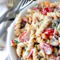 Lemon Pepper Pasta Salad