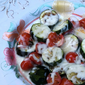 Roasted Zucchini Parmesan Makes a Healthy Snack
