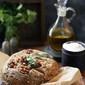 Baking   Wholewheat Walnut Garlic Coriander Bread … new flour in town & I'm loving it! #EkNayiAadat with #Aashirvaad