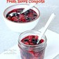 Fresh Berry Fruit Compote No Added Sugar
