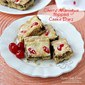 Cherry Meringue Topped Cookie Bars