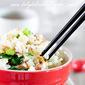 Chinese sausage (LAP CHONG) fried rice