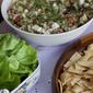 Greek Inspired Luncheon & Quinoa Tabbouleh Salad