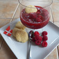 Hindbaer Suppe (Raspberry Soup) for Soup Saturday Swappers