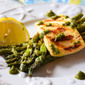 Grilled Asparagus Halloumi Salad #BBQWeek