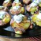 Crispy Smashed Potatoes w/ Herbed Yogurt