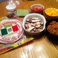 Six Layer Grilled Chicken Burritos