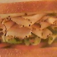 Black Pepper Turkey & Swiss Cheese Sandwich