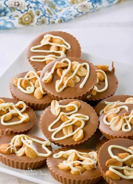 Extremely Addictive Milk Chocolate Peanut Bites