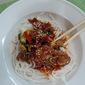 Korean Beef and Noodle Stir-Fry
