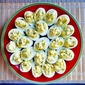 Perfect Deviled Eggs with Fresh Chives