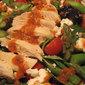 Chicken, Asparagus, Spinach Salad