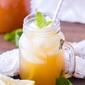 Naturally Sweetened Iced Peach Green Tea