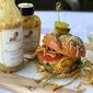 Garlic-Parmesan Crunch Burgers #SaucyMama #WFC #Giveaway