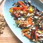 Roasted Carrots w/ Feta, Walnuts & Dill