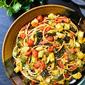 Simple Zucchini Tomato Pasta