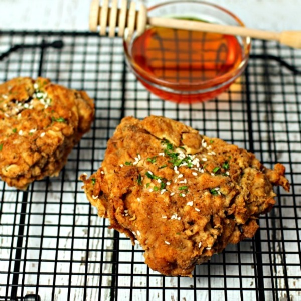 Honey Fried Chicken Recipe By Culinary