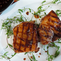 Grilled Mahi-Mahi with Sweet and Spicy Hoisin Sauce