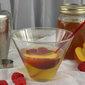 White Peach and Honeysuckle Martini #NationalMartiniDay
