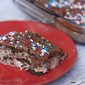 Low Fat Double Chocolate Eclair Icebox Cake Recipe