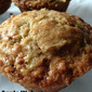 Apple Walnut Sourdough Muffins