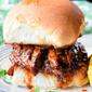 BBQ Beef Brisket Sandwich #SundaySupper
