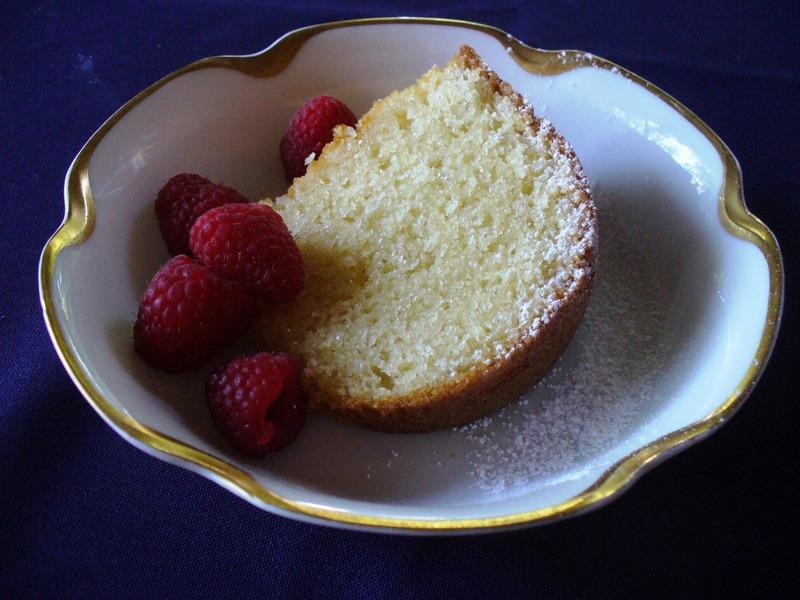 Double Butter Bundt Cake