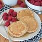 Maple-Cinnamon Oatmeal Pancakes