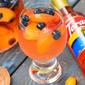 Sparkling Peach Sangria #MyToraniSummer