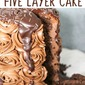 Easy Chocolate Overload Cake made with Box Cake Mix - How to Make an Amazing 5 Layer Rich Chocolate Cake
