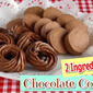 2-Ingredient Icebox and Piped Chocolate Cookies - Video Recipe